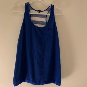 Gap Royal Blue Racerback Tank M